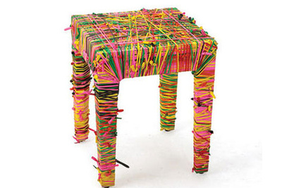 rubber band table  1