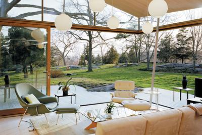 living outdoor room