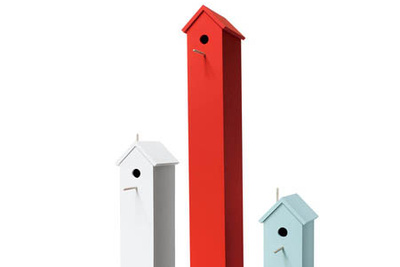 furniture for the birds attic bird house