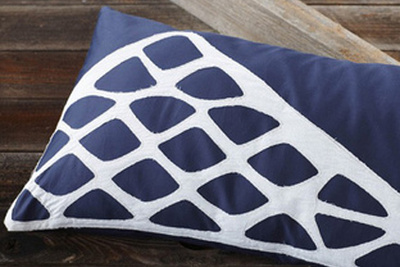 stacked stones pillow by coyuchi