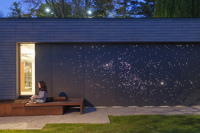starry night light installation