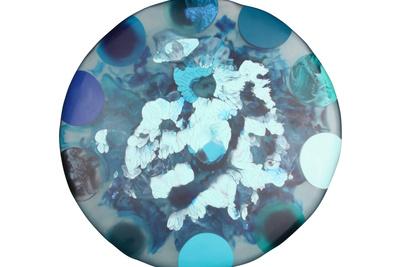 liquid moon top in underwater blues  0