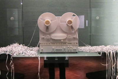 2010, the Victoria & Albert museum featured I Cling to Virtue by Onkar Kular and Noam Toran, an installation revolving around Monarch Lövy Singh's family memories