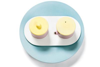scholten beijings porcelain tea set color pastel