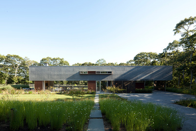 extended pryor residence backyard