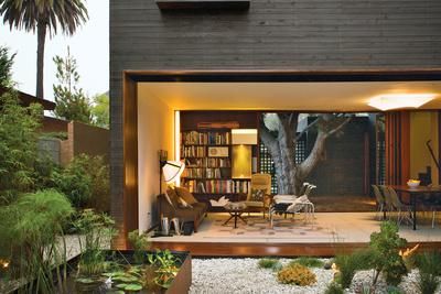venice home landscape living room