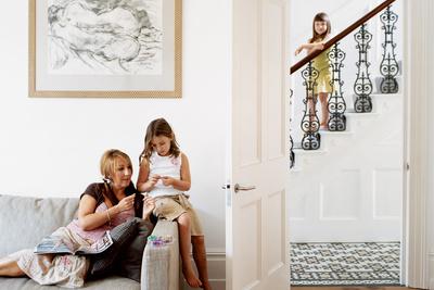 brenner house living room portrait