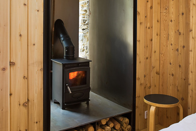 blee wood burning stove detail rec