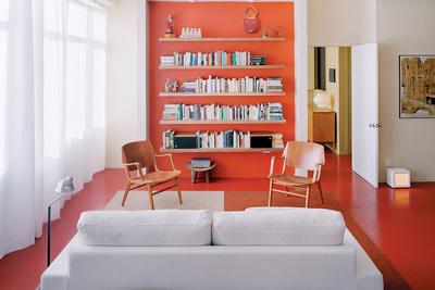 dayton residence living room