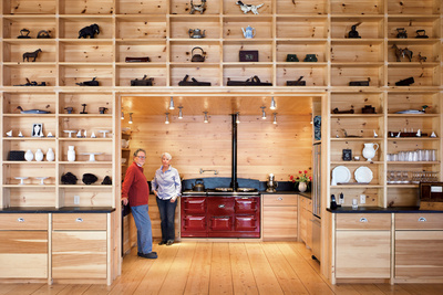 callahan hayes residence kitchen portrait