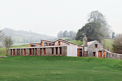 postman cottage exterior england