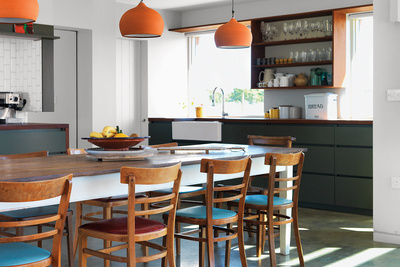 marston house interior dining room