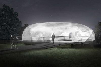 smiljan radic pavilion night