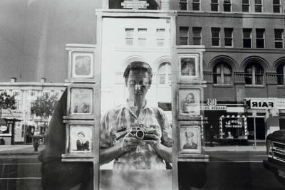 Lee Friedlander self portrait rectangle