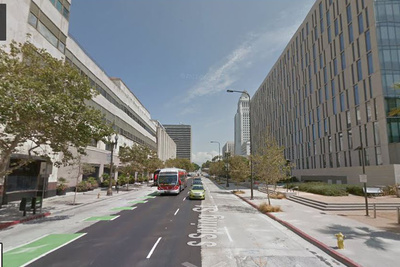 Google Street View LA Rectangle
