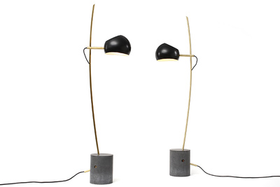 david weeks fenta standing lamps