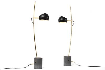 david weeks fenta standing lamps