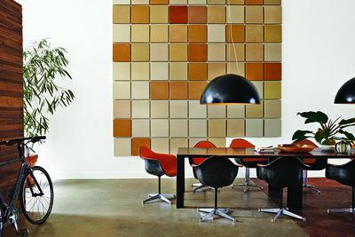 13noordeinde dining room galvanized steel wall art