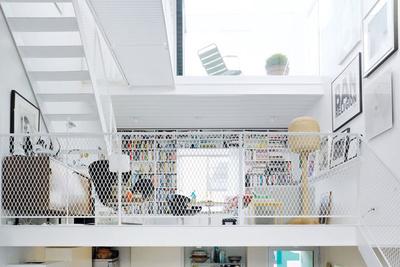 Bright, modern Scandinavian loft