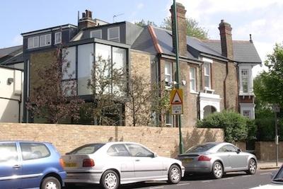 Milman Road London renovation by Syte Architecture