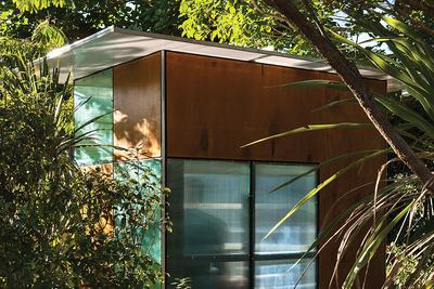 New Zealand backyard playhouse plywood and plastic