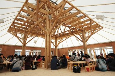 architecture humanity school design wood