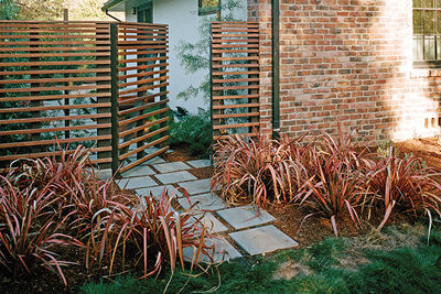 drought resistant brennan cox pavers phormium rainbow warrior