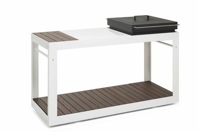 The Ulaelu modular outdoor cooking platform.