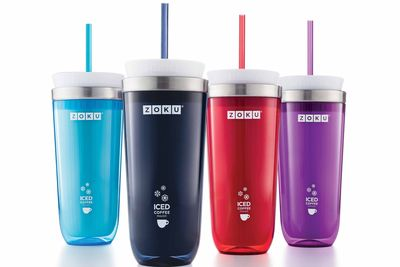 Zoku Iced Coffee maker comes in many colors.