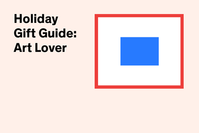 Dwell holiday gift guide 2014 for the art lover