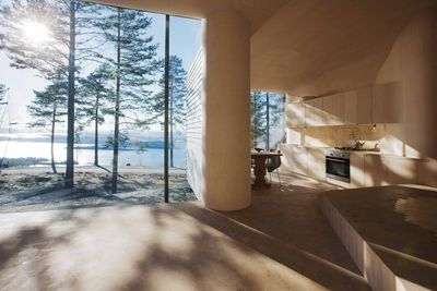Norderhov kitchen with custom-built cabinets.