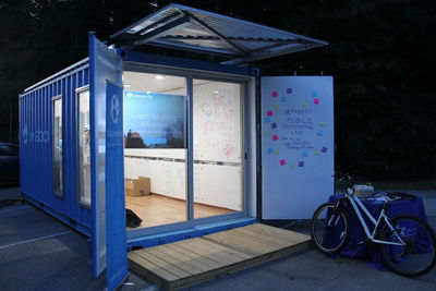 BetaBox shipping container lab