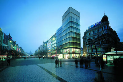 EURO Palace office building by DaM, Prague