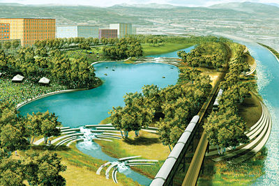 dwell on design los angeles los angeles river revitalization plan mia lehrer