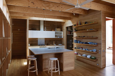 shiver me timbers tallow wood kitchen