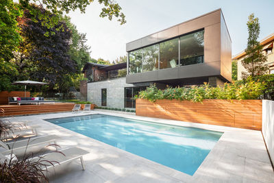 A modern addition in Montreal