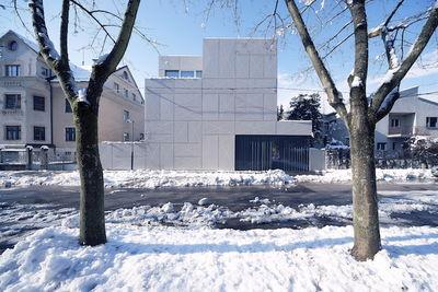 villa criss cross in slovenia angular
