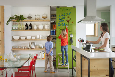 ideapaint kids kitchen