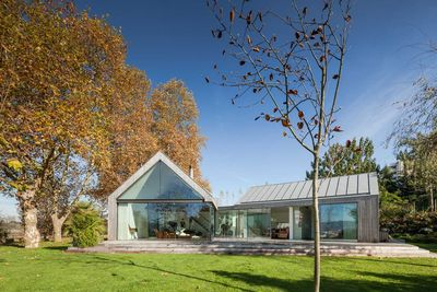 portugal modern farmhouse glass exterior