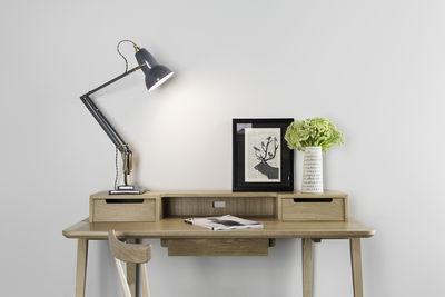 anglepoise original1227 brass desk lamp elephant grey