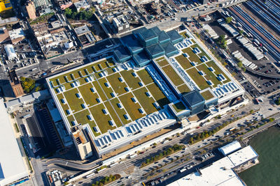 javits center nyc green roof aerial