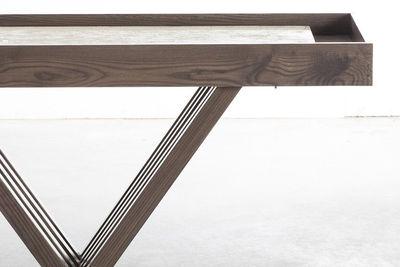 chandra shuffleboard table brown 2