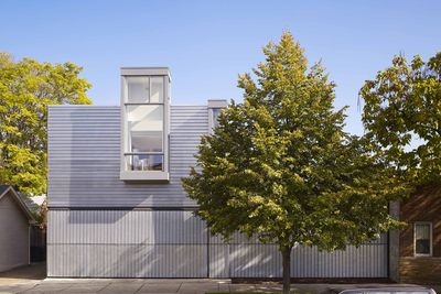 Doblin House addition exterior