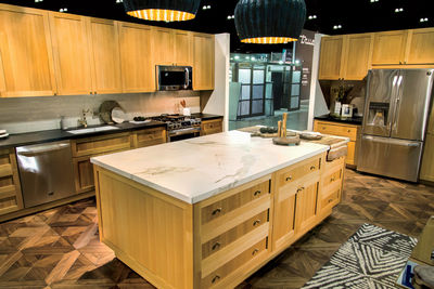 LG Studio appliances, designed with Nate Berkus, at the LG Re-Imagination Pavilion of Dwell on Design Los Angeles 2015.