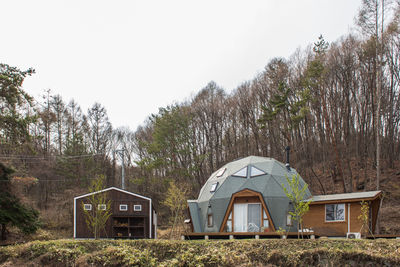 Domed home in Japan