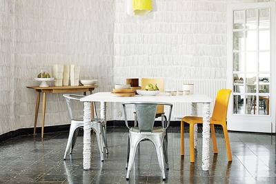 fringe benefits pierre pozzi dining room paper