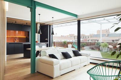 Zafra residence living room.