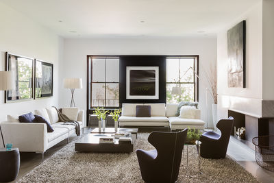 B&B Italia furniture in Boston renovation by Ruhl Walker Architects
