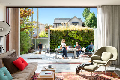 right of laneway vancouver garden sliding glass western window systems door outdoor
