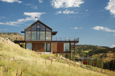 rocky mountain high loewen windows south facade triple paned low e glass